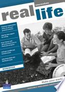 Real Life Global Intermediate Workbook for Pack