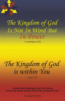 Pdf The Kingdom of God Is Not in Word, but in Power—The Kingdom of God Is Within You Telecharger