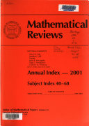 Mathematical Reviews Book