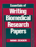 Essentials of Writing Biomedical Research Papers Book PDF
