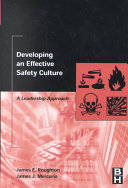 Developing an Effective Safety Culture