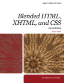 New Perspectives on Blended HTML  XHTML  and CSS  Introductory