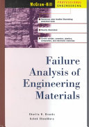 Failure Analysis Of Engineering Materials Book PDF