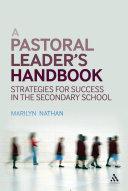 A Pastoral Leader s Handbook