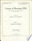 Census of Housing, 1950: Alabama-Georgia