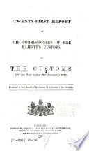 Report of the Commissioners of Her Majesty's Customs