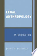 Legal Anthropology Book