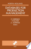 Databases for Production Management