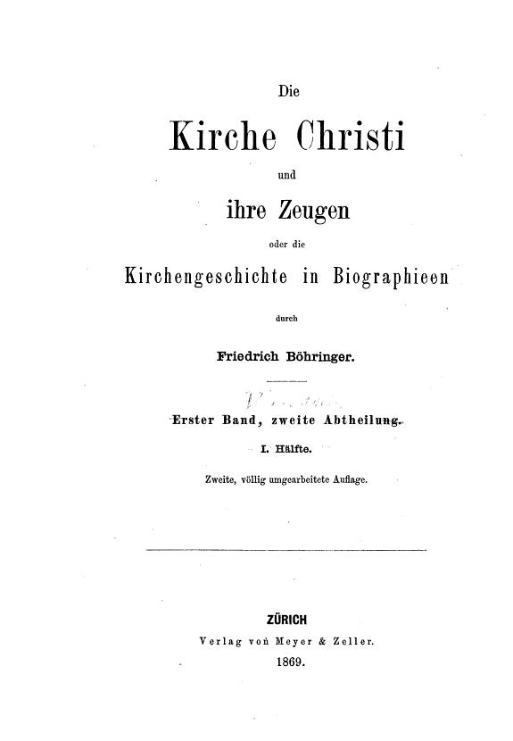 Klemens und Origenes