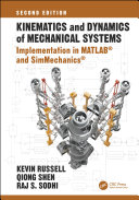 Kinematics and Dynamics of Mechanical Systems  Second Edition