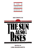 New Essays on The Sun Also Rises
