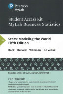 Stats MyLab Business Statistics Access Code