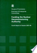 Funding The Nuclear Decommissioning Authority Book PDF