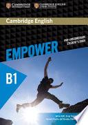 Cambridge English Empower Pre intermediate Student s Book Book