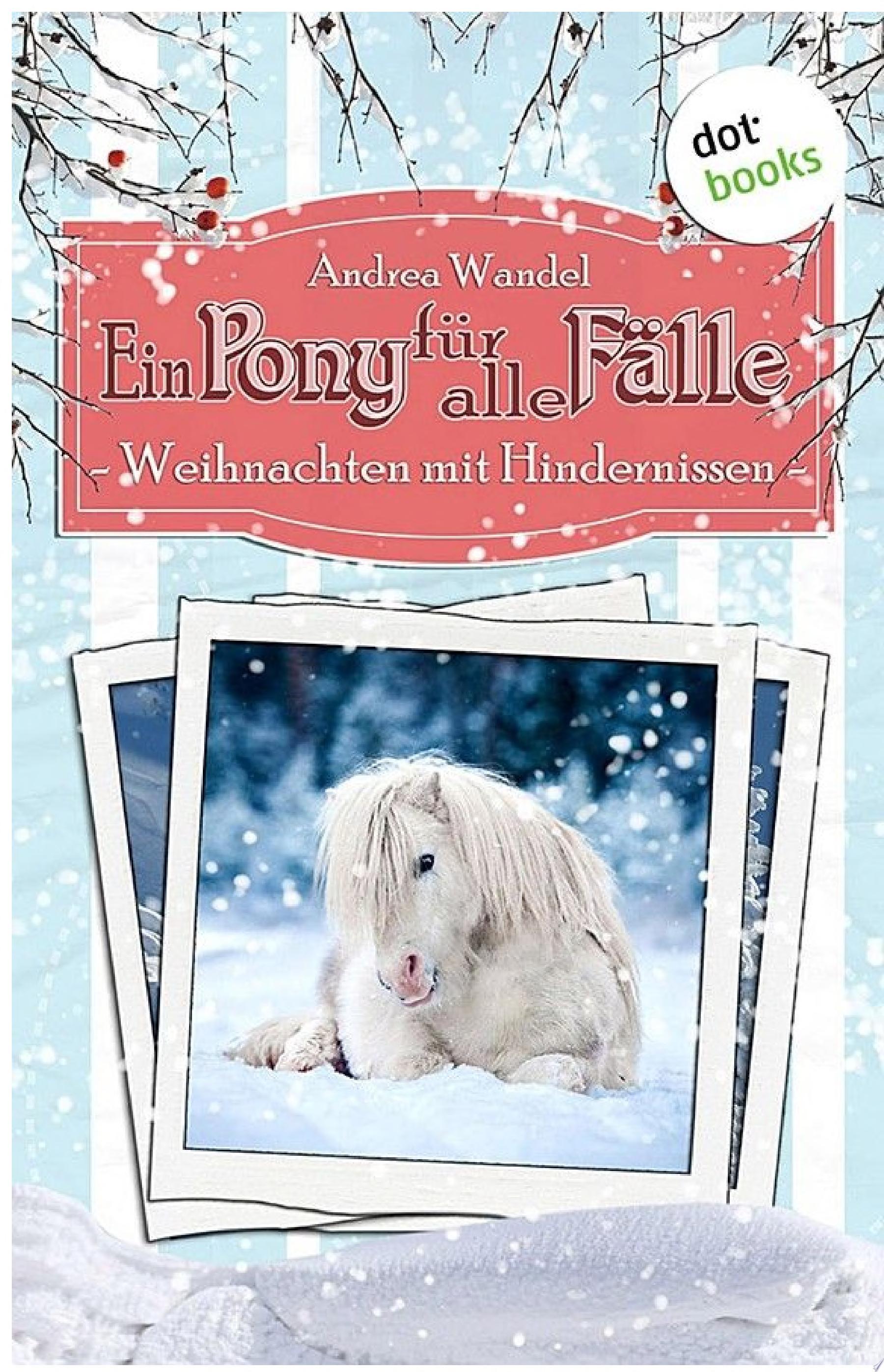 Ein Pony f  r alle F  lle   Elfter Roman  Weihnachten mit Hindernissen