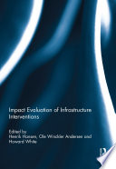 Impact Evaluation Of Infrastructure Interventions Book PDF