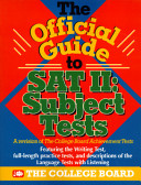 College Board s Official Guide to SAT