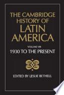 The Cambridge History of Latin America