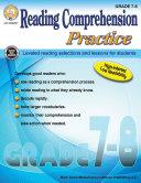 Reading Comprehension Practice, Grades 7 - 8 Pdf/ePub eBook