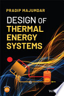 Design of Thermal Energy Systems Book