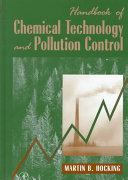 Handbook of Chemical Technology and Pollution Control Book