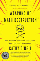 Book cover for Weapons of Math Destruction by Cathy O'Neil