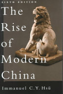 The Rise of Modern China Book PDF