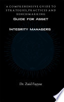 Guide for Asset Integrity Managers