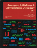 Acronyms  Initialisms and Abbreviations Dictionary