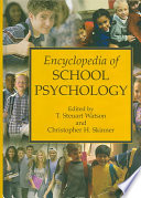 Encyclopedia Of School Psychology Book PDF
