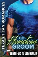 The Hometown Groom banner backdrop