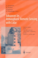 Advances in Atmospheric Remote Sensing with Lidar