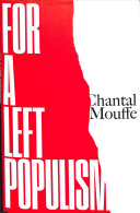 For a left populism / Chantal Mouffe