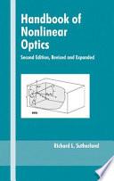Handbook of Nonlinear Optics Book
