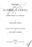 Memoires of a Maître D'armes, Or, Eighteen Months at St. Petersburg