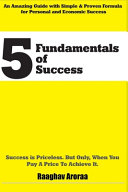 5 Fundamentals of Success Book