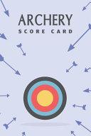 Archery Score Card