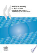 Multifunctionality in Agriculture Evaluating the degree of jointness  policy implications