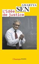 L'idée de justice Pdf/ePub eBook