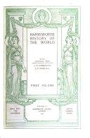 Harmsworth History of the World  Man and the universe  Japan  Siberia  China