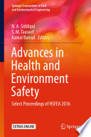 Advances in Health and Environment Safety Book