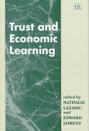 Trust and Economic Learning