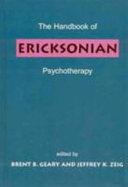The Handbook of Ericksonian Psychotherapy