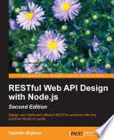 RESTful Web API Design with Node js