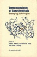 Immunoanalysis of Agrochemicals Book