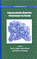 Polysaccharide Materials Book
