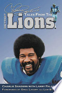 Charlie Sanders's Tales from the Detroit Lions