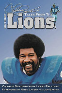 Charlie Sanders s Tales from the Detroit Lions