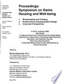 Proceedings, Symposium on Swine Housing and Well-Being, P.O.R.K. Academy 2002, Kent Feeds