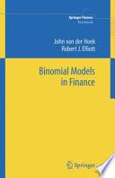 Binomial Models in Finance Book